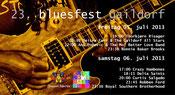 Seit 1979 alle zwei Jahre ein top-Event: das Bluesfest in Gaildorf