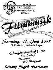 Plakat Filmmusik