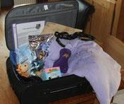 mein gepackter Koffer