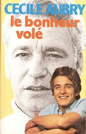 Livre Le bonheur volé de Cécile Aubry