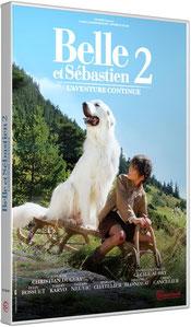 DVD Belle et Sébastien, Mehdi el Glaoui, Cécile Aubry, Félix Bossuet, Christian Duguay