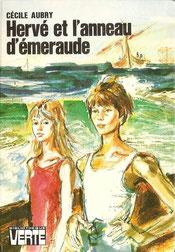 Livre Hervé et l'anneau d'émeraude de Cécile Aubry