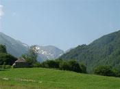 Val de Garbet, sur le Tour du Valier
