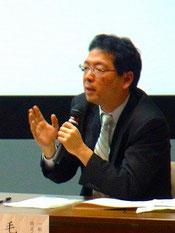 毛受(めんじょう)芳高氏 一般社団法人アスバシ教育基金代表理事