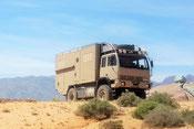 Expeditionsmobil, Steyr, Allrad LKW, Reiseberichte, Ausbau Wohnmobil