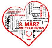 8. März = Weltfrauentag