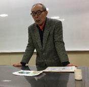青柳正英講師の写真