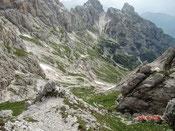 Mosesscharte Julische Alpen