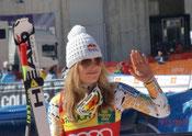 Lindsey Vonn in Tarvis, Monte Lussari, Luschariberg