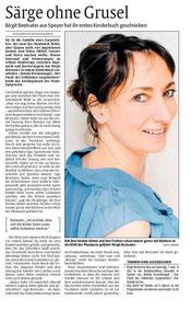 Rezension zu Betula Krummnagel - DIE RHEINPFALZ vom 2. Mai 2014