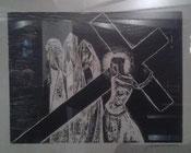 VIII Estación, Jesús se dirige a las mujeres