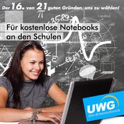 Für kostenlose Notebooks an den Schulen - Der 16. von 21 guten Gründen, uns zu wählen
