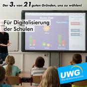Für Digitalisierung der Schulen - Der 3. von 21 guten Gründen, uns zu wählen