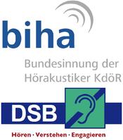 Logos von BIHA und DSB