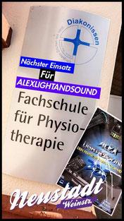 Neustadt Fachschule für Physiotherapie Alex Light and Sound Set Komplett Set Partyequipment Mieten Verleih 70 Euro Musikanlage Lichtanlage Mikrofon Nebelmaschine