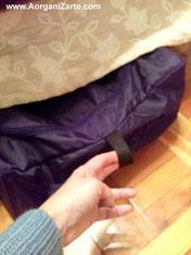 Bolsa para guardar zapatos bajo la cama - www.AorganiZarte.com