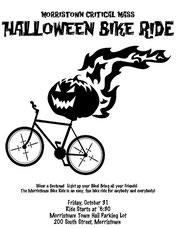Halloween bike ride flyer by Kendra on Flickr