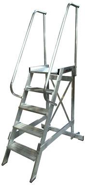 Escaleras industriales tienda online escaleras de aluminio for Escalera aluminio plegable