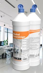 Alkohol Glanzreiniger_Linker-Chemie Flasche