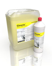 Citronia®_Linker Chemie-Group, Reinigungschemie, Reinigungsmittel, Sanitärreiniger, Bäderreiniger, Putzmittel, Toilettenputzmittel, Reinigung Bad