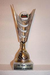 Pokal für Platz 2 beim Sachsentrail (9km) von René D.