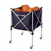 Matériel pour le rangement de ballons et autre équipement de clubs de sports : football, basket-ball, handball, volley-ball