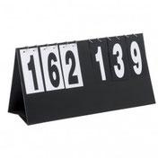 Matériel d'arbitrage : montre, pression, scorer, drapeau...