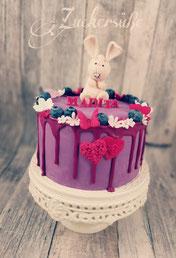 #Dripcake #Hase #Schmetterlinge