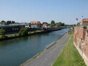Vue sur le Canal depuis le bastion (crédit photo Sandrine Dussart)