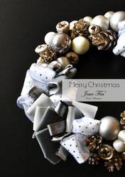 JourFin アーティフィシャルフラワー フラワー フラワーアレンジメント  アレンジメント フラワーレッスン 資格取得  フラワー制作 クラフト レッスン ハンドメイド お花クリスマス クリスマスリース クリスマスアレンジ