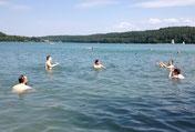 Wasserball im See