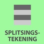 splitsingstekening