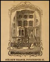 27 E., 14th St.  N.Y. (1861)