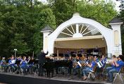 Vorprogramm Blasorchester Herzberg - Foto Georg Mäder / lauterneues.de