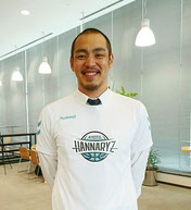永吉佑也選手です