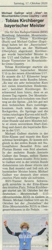 Quelle: Landshuter Zeitung 17.10.2020