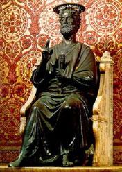 聖ペテロ像