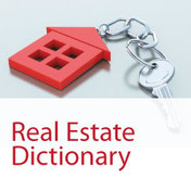 Free real estate dictionary, keys