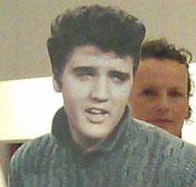 ..Elvis-Selfie bei Betty O.