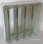 Bild: DESIGN 3D Q30 DORIC 30x30x8/10 Glasstein Glass Blocks Glasbaustein Glasbausteine Glassteine Glasbausteine-center.de glasbausteine-center Transparent Briques Blocs de verre Bloques de vidrio  Blocos de vidro Glasblokke glass blokker Lasitiilet