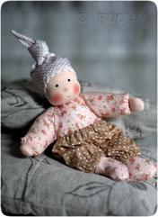 Кукла из ткани для малышей