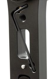 pocketPANO Nodalpunktadapter für Kompaktkameras mit verliersicher angebrachter Kameraschraube