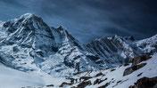 Berge, Schnee, kalt, Winter