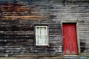 Fenster, Tür, Hütte