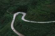 Strasse, Pass, Weg, Motorrad, Fahrrad, Berge