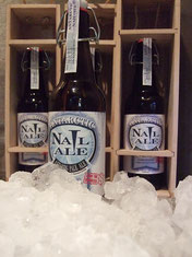 Antarctic Nail Ale sample. Official release November Thirty (30) bottles have been individually bottled.