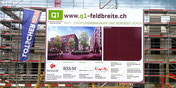 Baureklame von BlackStone Werbetechnik in Luzern