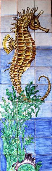 """""""Seepferdchen"""" Art.-Nr.: PN-140, Größe:1,40x42cm"""