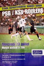 2008-07-19  PSG-Clermont (Amical à Blois, Feuille de Match)