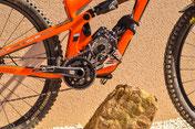 Informazioni sull'altezza da terra delle mountain bike elettriche con motore bafang bbs02 bafang bbs 01, Bosch o Yamaha con motore guarnitura adattabile LIFT-MTB.